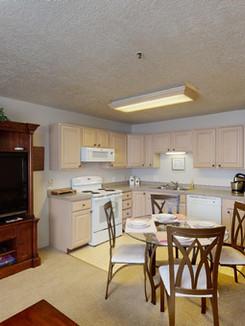 Living Room, Kitchen, Hallway