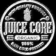 juice core logo whit