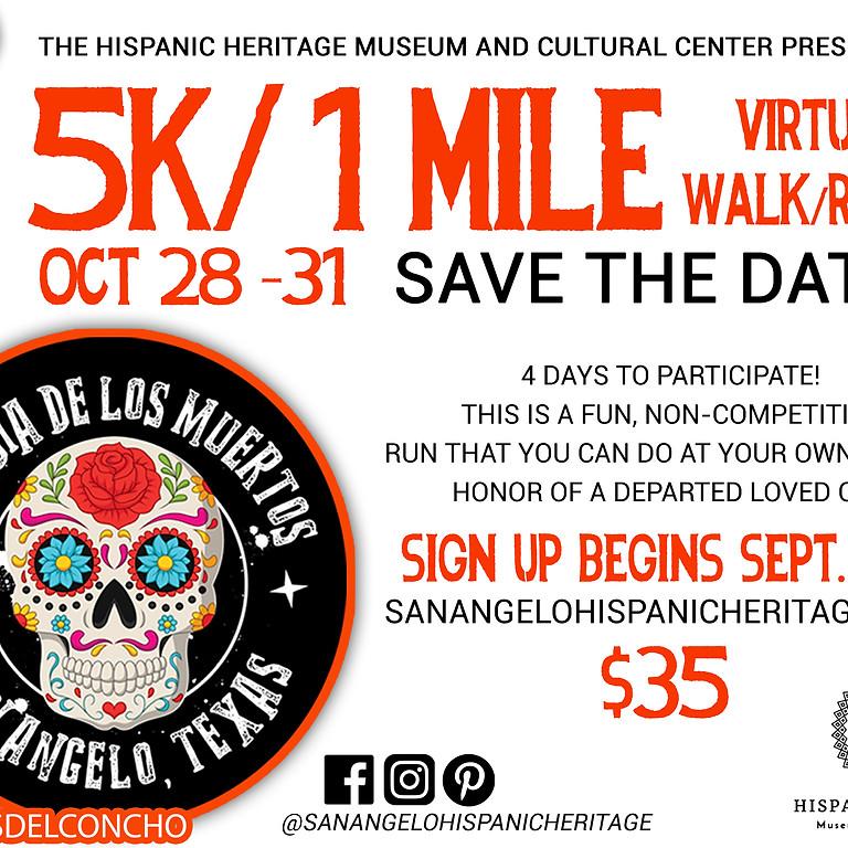 Día de los Muertos 5K/1 Mile