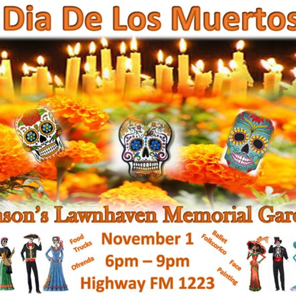 Johnson's Lawnhaven Memorial Gardens Dia De Los Muertos