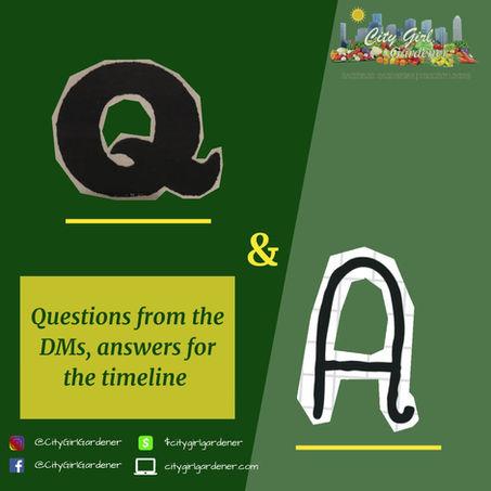 Garden Q&A