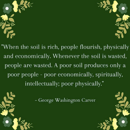 Wise Words from George Washington Carver