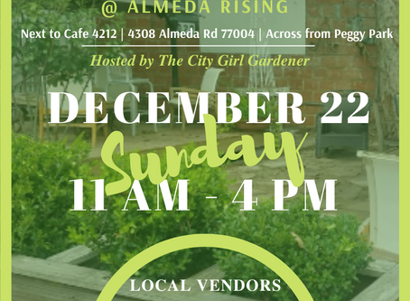 The Almeda Market hosted by The City Girl Gardener