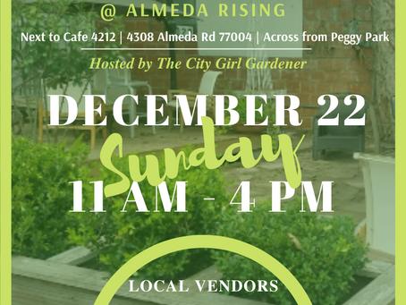 The Almeda Market hosted by The City Girl Gardener