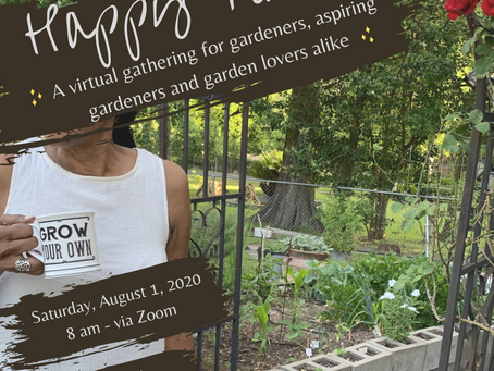 Happy Place: Morning Gardener's Circle with The City Girl Gardener