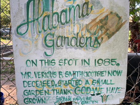A Day at the Alabama Gardens