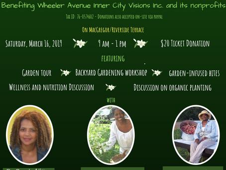 The Spring Garden Party & Wellness Workshop