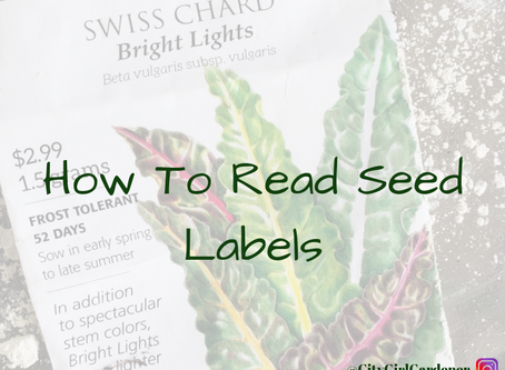 How to Read Seed Labels