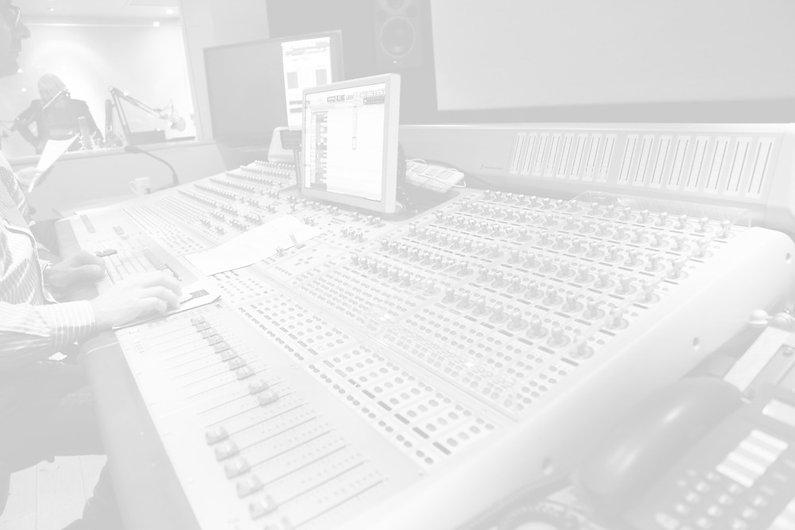 In the studio, London