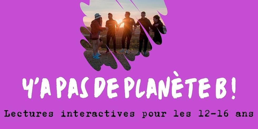 """Lecture interactive """"Y'a pas de Planète B"""""""
