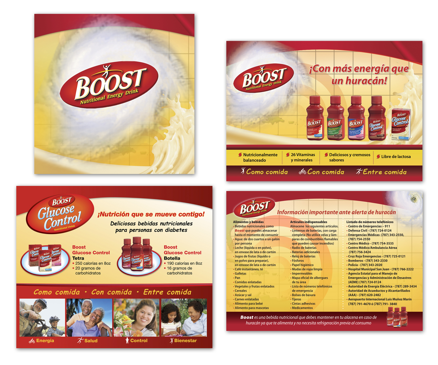 Boost Promo flyers