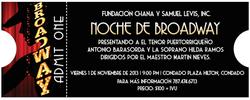 Ticket Fundación Levis