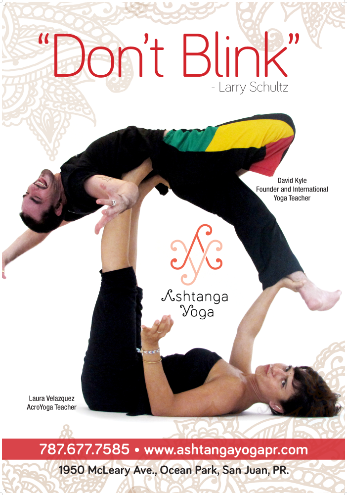 Billboard Ashtanga Yoga