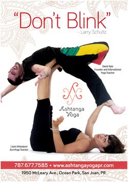 Billboard Ashtanga Yoga