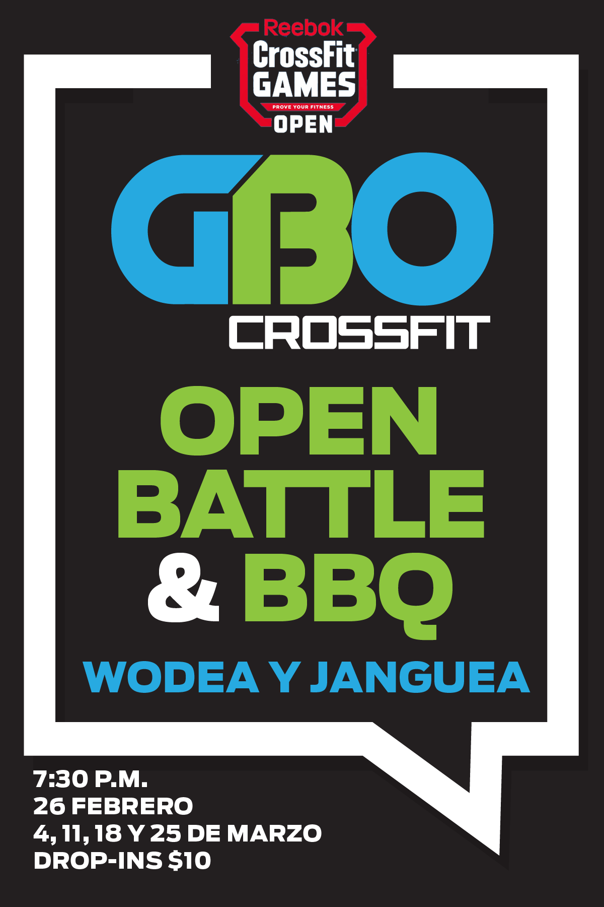 GBO Open Battle Logo