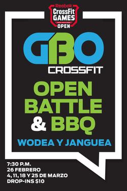 GBO Open Battle Logo