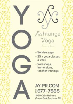 BusShelter Ashtaga Yoga 2014