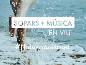 SOPARS + MÚSICA EN VIU