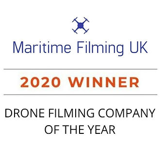 Drone filming company of the year logo