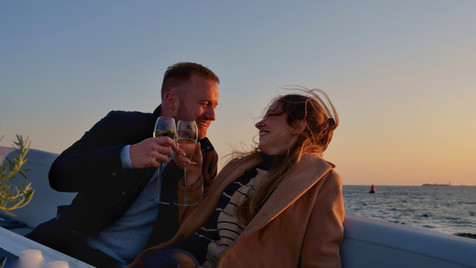 Yacht charter guests lifestyle and enjoyment. Luxury
