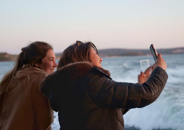 Charter yacht filming lifestlye video joy