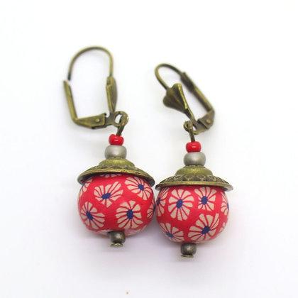Boucles d'oreilles - perle