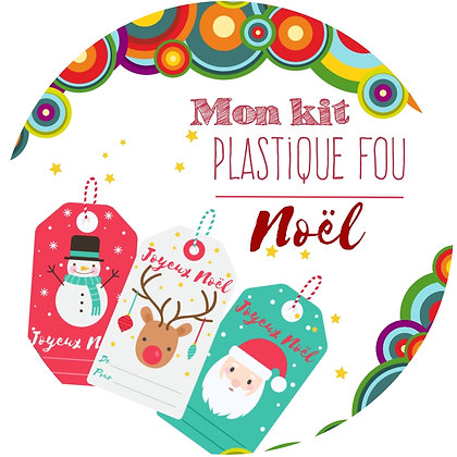Kit plastique fou Noël