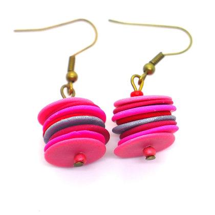 Boucles d'oreilles - Lampion