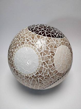 Sphère en mosaïque