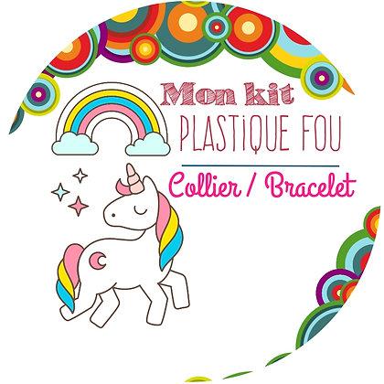 Kit plastique fou Collier & Bracelet