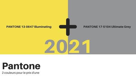 La couleur de l'année 2021