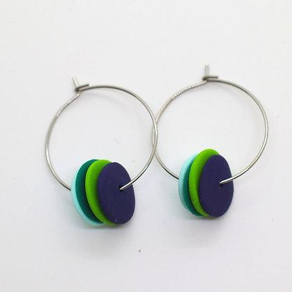 Boucles d'oreilles - créoles