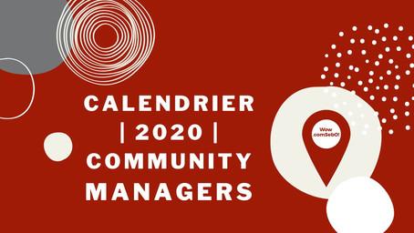 Le calendrier éditorial 2021