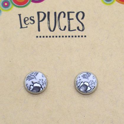 Boucles d'oreilles - Puce
