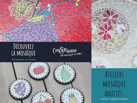 Ateliers mosaïque pour les adultes