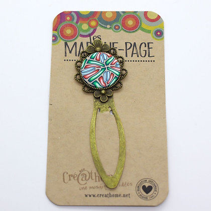 Marque page - pince