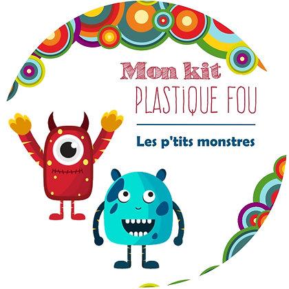 Kit plastique fou Petits monstres