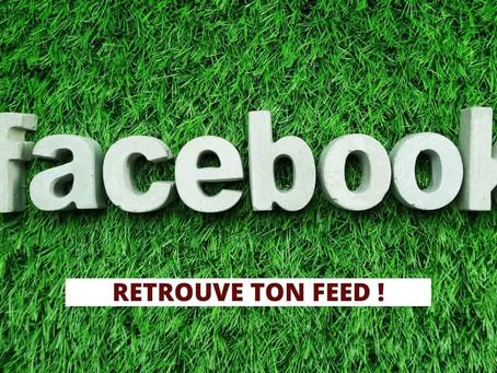 Retrouvez le Pages Feed de Facebook