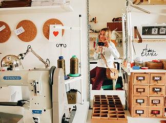 atelier cuir éleste carquefou nantes -