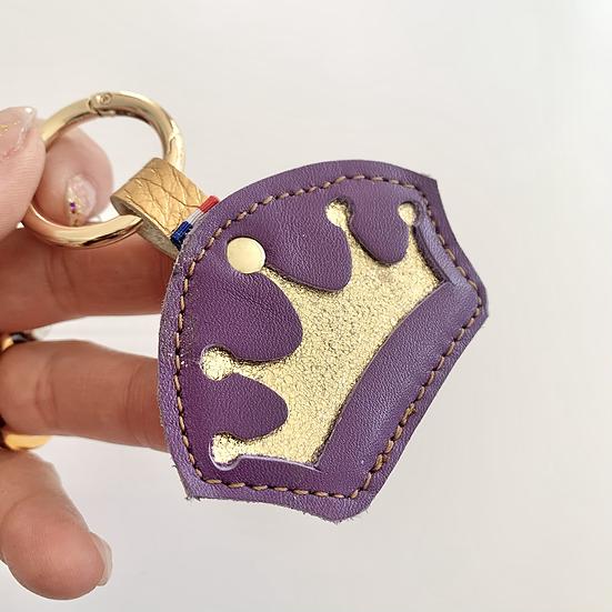 QUEEN purple .porte-clés