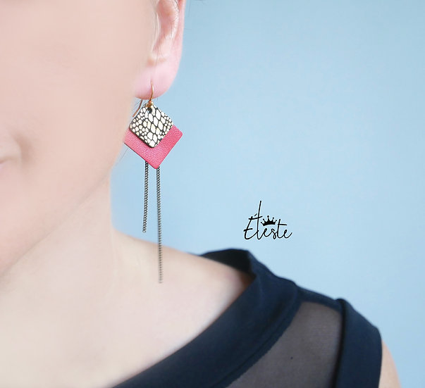 RUMBA red .boucles
