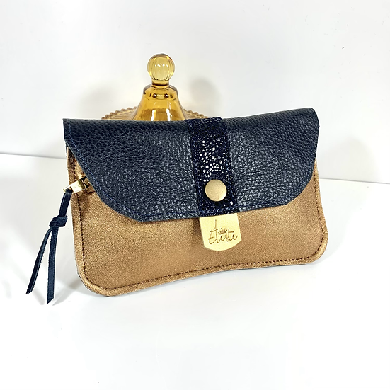 SISSY navy .portefeuille