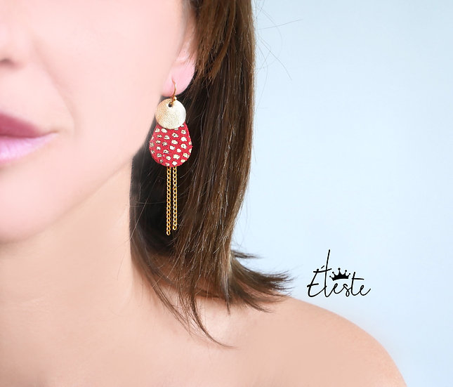COCCI red .boucles