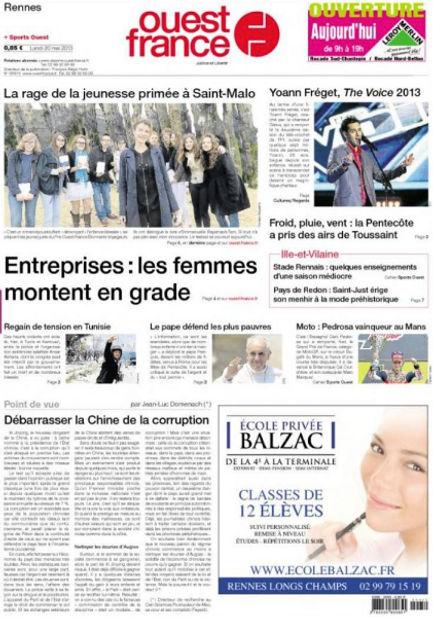 JOURNAL OUEST FRANCE.JPG