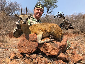 Magnificent Klipspringer and a happy hun