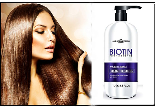 PROFESSIONAL BIOTIN MOISTURISING CONDITIONER -1L HAIR GROWTH BOOSTER