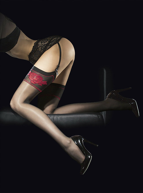 Fiore Obsession Designer Etheris Stockings 20 Denier