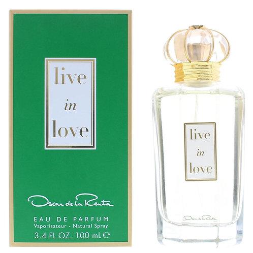 Oscar de la Renta Live In Love Eau de Parfum 100ml Spray