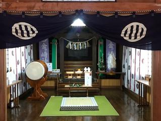 金ケ崎神社にて新年安全祈願を執り行いました!