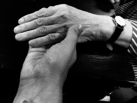 Hand van mijn held